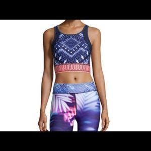 Nanette Lepore Open Back Yoga/workout Sport Bra!
